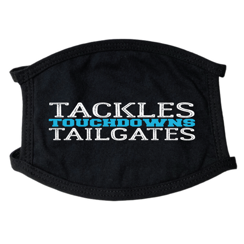 Tackles Touchdowns Tailgates Face Mask