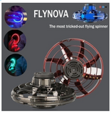 FlyNova Mini Fidget Spinner Hand Flying Spinning Top Autism Anxiety Stress Release Toy Great Funny Gift Toys For Children