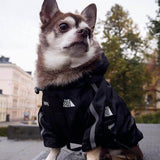Dog Winter Clothes Windproof Dog Jacket Fashion Pet Clothing for Medium Large Dogs Labrador Reflective Dogs Clothes Ropa Perro