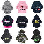 Graphic Text Pet Sweatshirts