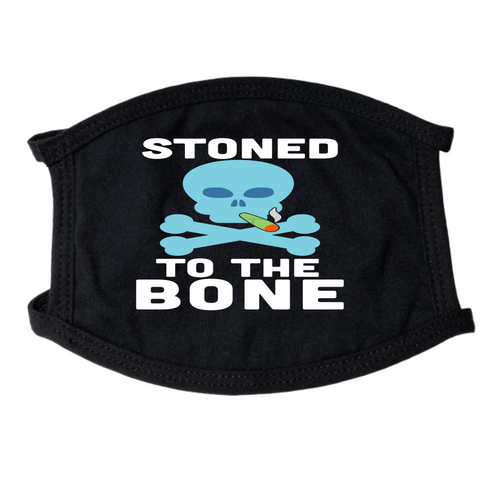 Stoned To The Bone Face Mask