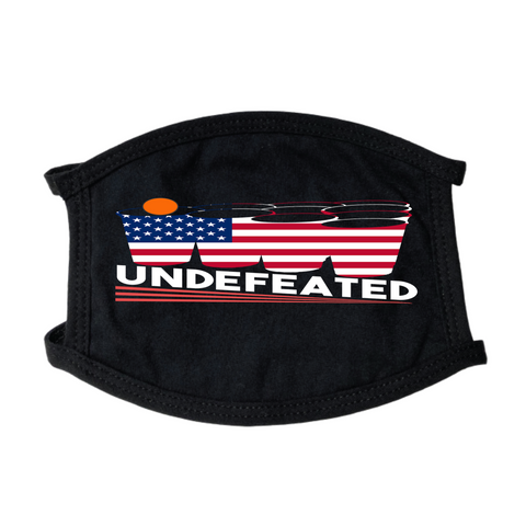 Undefeated Face Mask