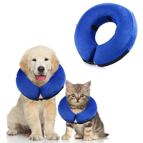 Cushion Tie- Inflatable Pet Collar