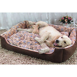Dog Mattress Pad Bed Bed Blankets Mats & Pads Cotton Warm Geometric Beige Pink Camel