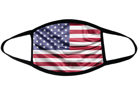 United-States Sublimation Face Mask