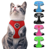 Breathable Nylon Cat Harness Reflective Dog Pet Harness for Small Medium Dogs Pet Puppy Harnesses for  Chihuahua Yorkshire