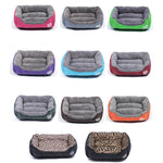 Multi-Color Soft PP Cotton Pet Sofa Bed