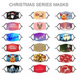 1 Piece Christmas Series Masks