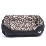 Multi Color Polyester Cute Box Shape Pet Bed for Dogs Cats 58*45*14 cm / 23*18*6 inch