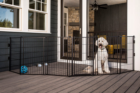 SUPERGATE EXTRA TALL WITH SMALL PET DOOR by Carlson Pet in Doors & Gates UPC: 891618001875