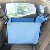 Dog Clothes Car Seat Cover Solid Colored Beige / Blue Cat / Dog