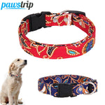 M-3XL Large Dog Collar Leather Puppy Collar Lead Release Buckle Pet Collar For Dogs 0.8 inch Width Pet Dog Leash Running Walking