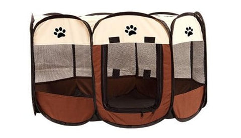 Portable Outdoor Indoor Kennels Fences Pet Tent Houses Foldable Playpen Indoor Puppy Cage Crate Delivery Room For Small Larg Dog