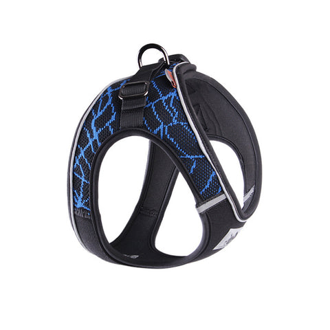 No Pull Dog Harness Adjustable Reflective Pet Collar Dog Walking Mesh Vest For Small Dogs Puppy Cat Harness Strap Pets Supplies