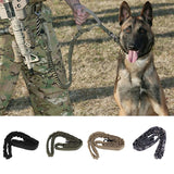 Dog Leash 1000D Nylon Tactical Military Police Dog Training Leash Elastic Pet Collars Multicolor High Quality Adjustable Leash