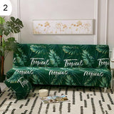 Feather Flamingo Stretch Armless Sofa Cover Couch Slipcover Furniture Protector