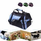 Small Pet Carrier for Dogs Cats Travel Bag Folding Carrier Cage Collapsible Crate Tote Handbag Potable Tools