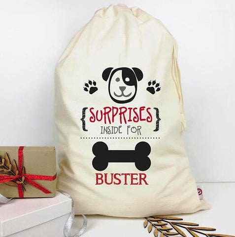 personalized puppy pet Easter Bunny Sacks kids storage Canvas gift toy bags birthday cotton drawstring storage pack