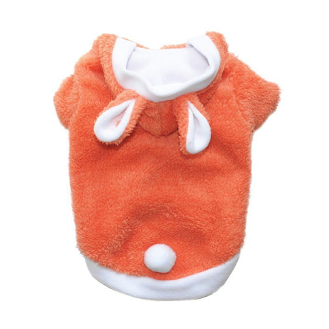 Easter Rabbit Turned Dog Clothes Winter Thickening Pet Clothing Hoodie Dog Coat Jacket Pet Costumes Teddy Bichon Frise apparel