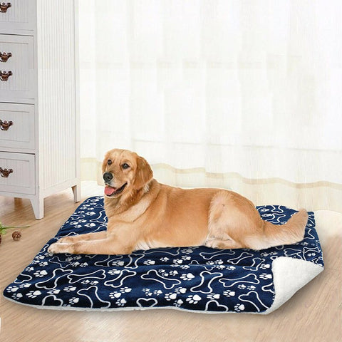 1* Pet Washable Mat Blanket Large Dog Bed Cushion Mattress Kennel Crate Mat 2019  Durable For Long Time Using