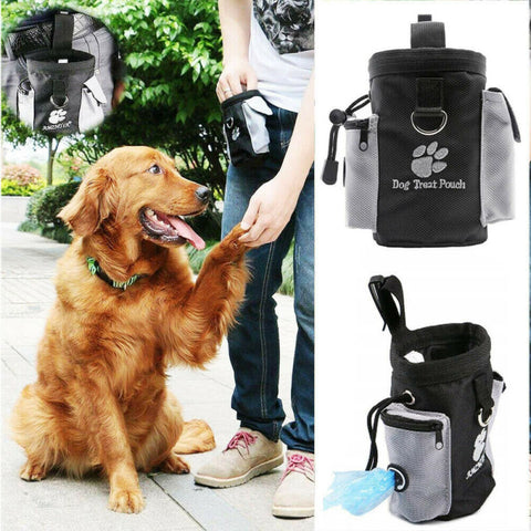 New Arrival Pets Dog Puppy Obedience Training Treat Bag Feed Bait Food Snack Pouch Belt UK