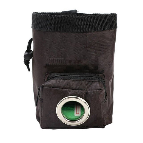 Doggie Pet Feed Pocket Pouch Puppy Snack Reward Waist Bag Portable Detachable Dog Training Treat Bags with Trash Bag Hole