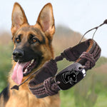 German Shepherd dog Animal Backer Woven Rope Leather Unisex Bracelet Yak Bone Carved,Fashion bracelet For Women drop shipping