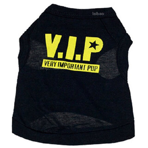 Pet vip spring summer pet dog clothes small dog chihuahua pug clothing puppy dog vest Easter