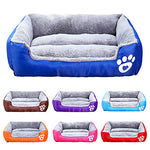 Cat Dog Mattress Pad Bed Bed Blankets Fabric Cotton Pet Mats & Pads Solid Colored Waterproof Cute Black Dot Leopard