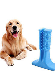 Dog Toys-Chew Toy Cleaning Toothbrushes Dog Pet Toy 1pc