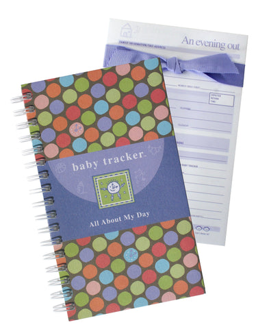 Baby Tracker Working Mom Promotional Bundle - Journal and Babysitter Pad Combo
