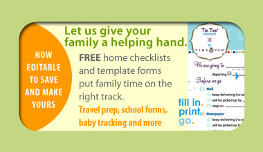 Free Home Checklists and Baby Templates
