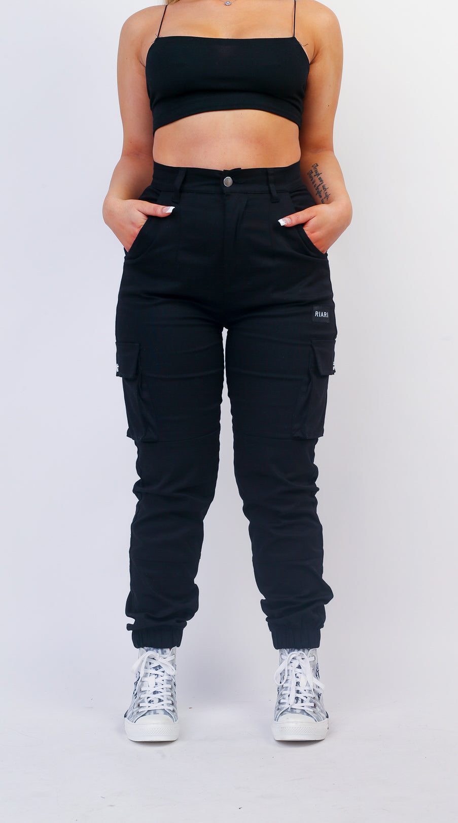 Premium Cargo Trousers - Women's