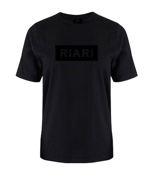 Black Tee - Block Logo - Black