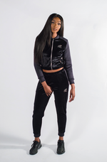 Women's Black Panther Bomber