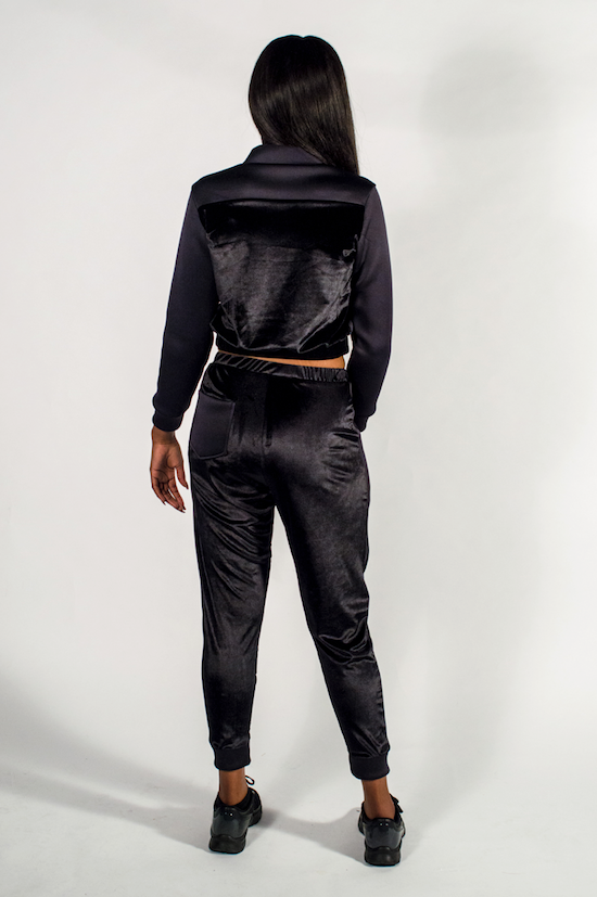Women's Black Panther Tracksuit