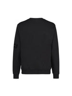 Black Sweatshirt - Black Print