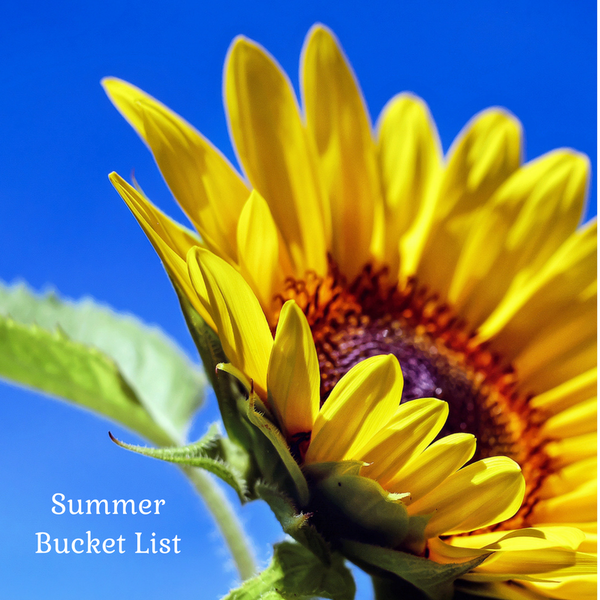 Why a bucket list is a must for a successful summer