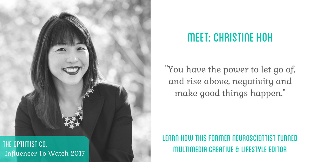 Meet Christine Koh influencer to watch 2017