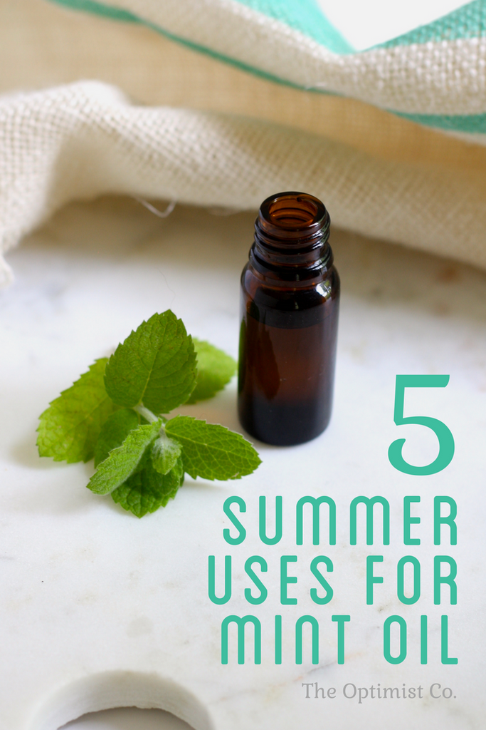 DIY natural bug spray with essential oils
