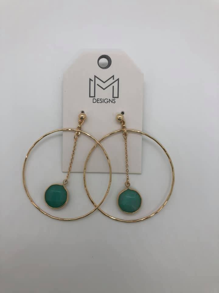 Jupiter Earrings - Turquoise