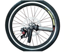 Wheels with Disc Brakes-20 inch
