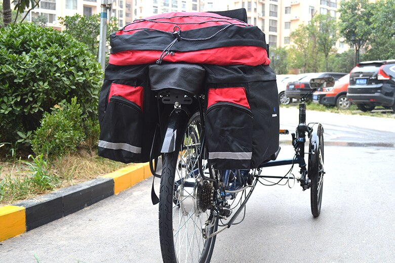 Rear Carrier Traveling Bags