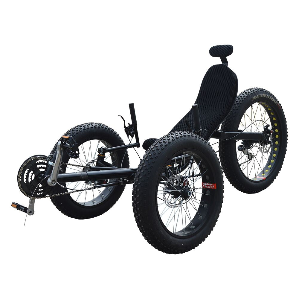 Fat Tire Folding Recumbent Trike-F010