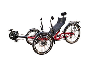 Entry-level Folding Suspension Recumbent Trike