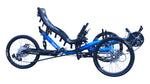 [4WD Off-Road Recumbent Quad-F426E] - TrikExplor AWD Fat Tire Recumbent Quad