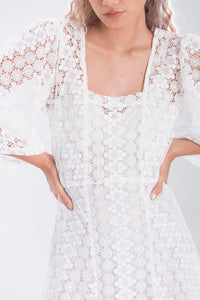 Lora Lace resort dress