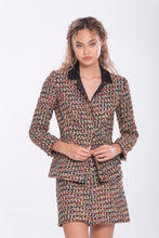 Load image into Gallery viewer, Michelle Italian Tweed jacket