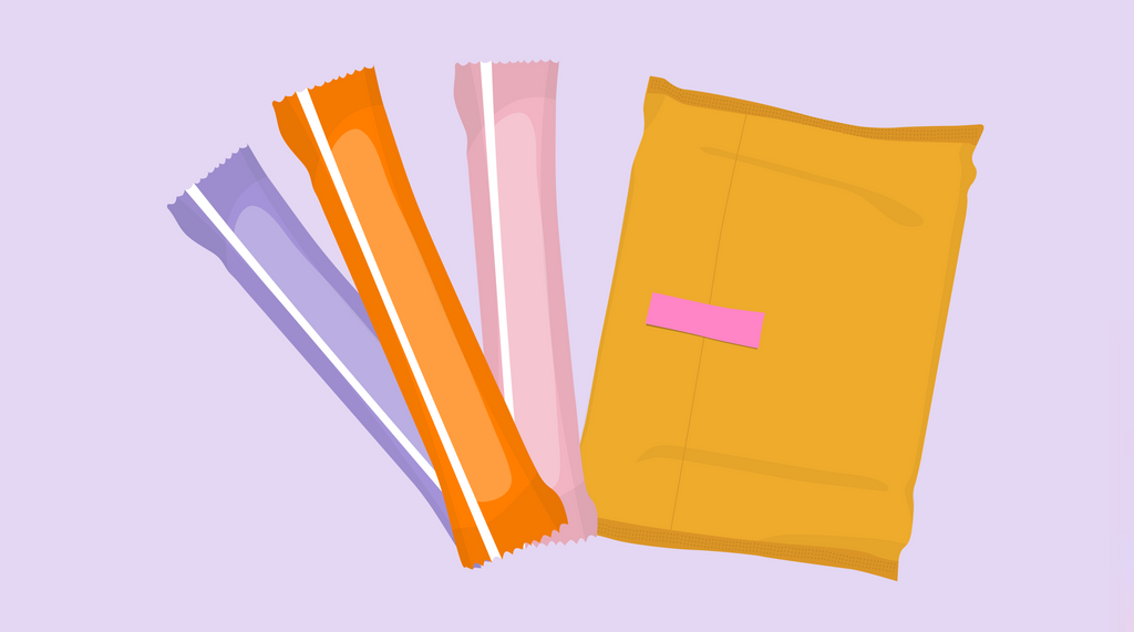 Pads vs Tampons – What's the Difference