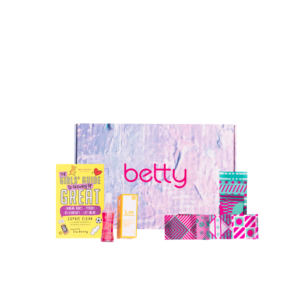 betty's first period box